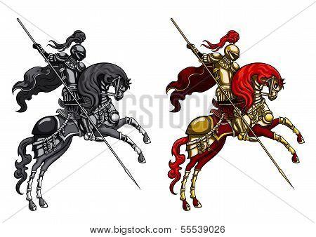 Knight On A Horseback