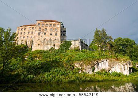 Pieskowa Skala Castle Near Krakow
