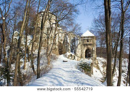 Medieval Castle In Ojcow National Park