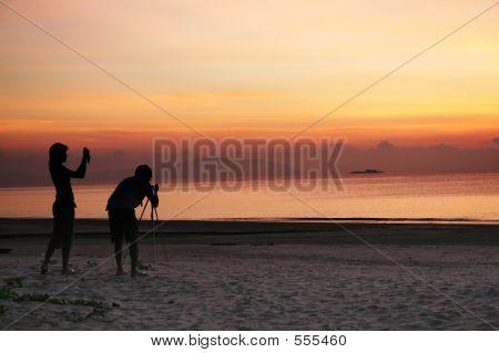 Photogaphing The Sunrise