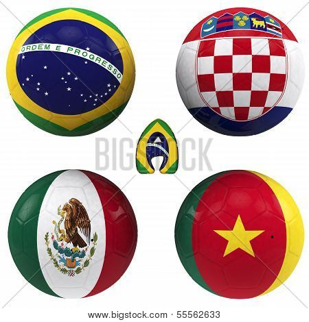 A Group Of The World Cup