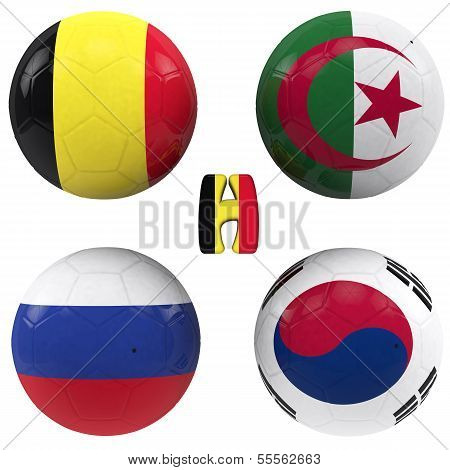 H Group Of The World Cup