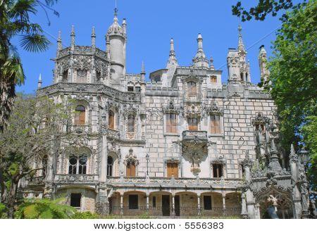 Castle In Quinta Da Regaleira