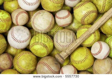 Balls And Bat