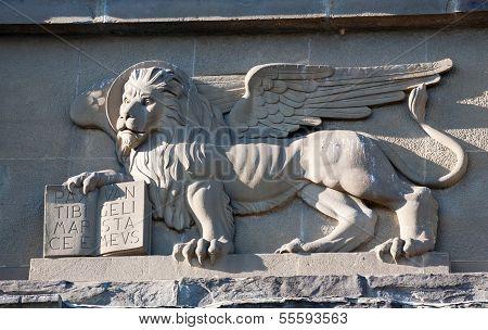 Venetian Winged Lion Bas-relief