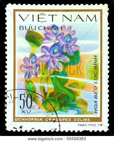 VIETNAM - CIRCA 1978: A stamp printed in VIETNAM, shows Eichhorn