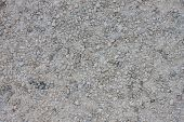 texture of small stone gravel road background poster