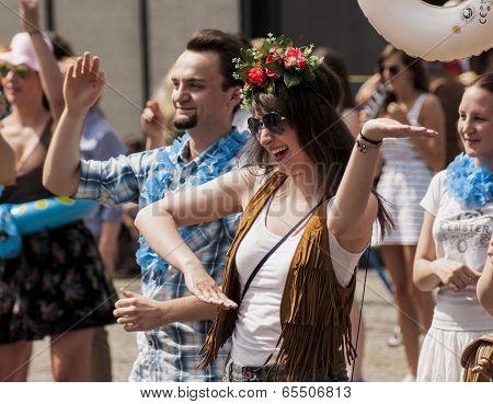 Beauty Polish Student Dance Zumba Class