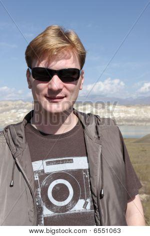 Portrait Of Tourist