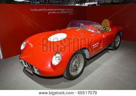 1955 Ermini 357 Sport At The Geneva Motor Show