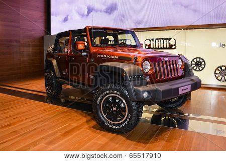 Jeep Wrangler Rubicon At The Geneva Motor Show
