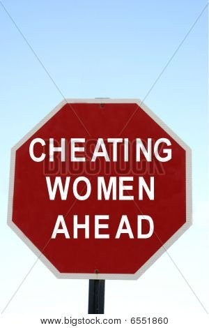 Cheating women warning