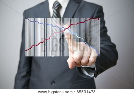 Businessman Presenting A Successful Sustainable Development