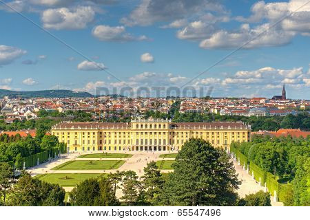 Vienna landscape view