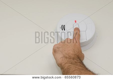 Monthly Smoke Detector Test