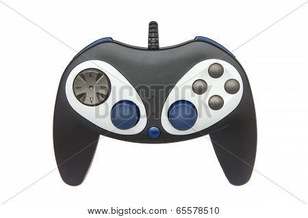 Computer Gamepad Isolated