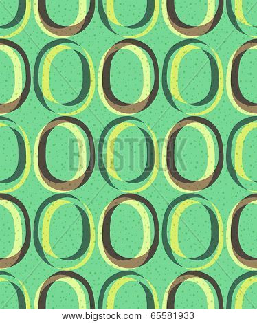 Trendy retro seamless pattern