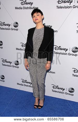 LOS ANGELES - MAY 19:  Ginnifer Goodwin at the Disney Media Networks International Upfronts at Walt Disney Studios on May 19, 2013 in Burbank, CA