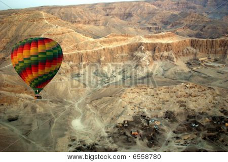 Balloon Over The Valley Of The Kings