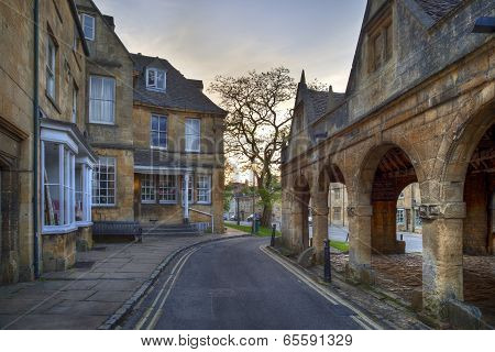 The Old Market Hall at Chipping Campden