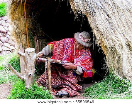 Awana Kancha Llama Farm In Peru