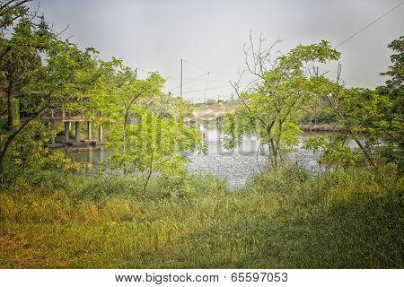 Fishing Hut On The Lagoon