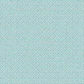 Teal Small Polka Dot Pattern Repeat Background that is seamless and repeats poster