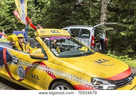 Lcl Car During Publicity Caravan