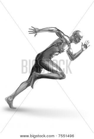 Chromeman Sprinter