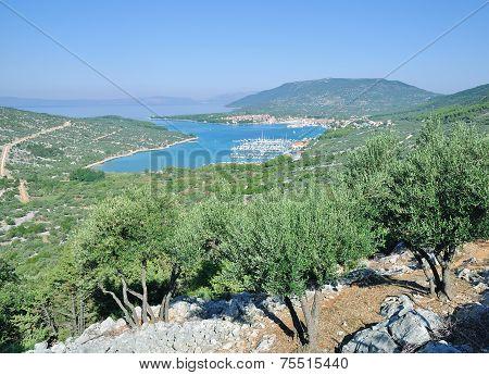 Cres Town,Cres Island,Kvarner,adriatic Sea,Croatia