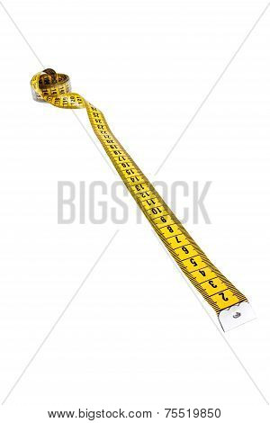 Tailor meter isolated on a white background poster