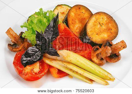 Vegetable And Mushroom Stir Fry