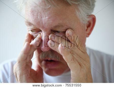 Man Has Nasal Congestion