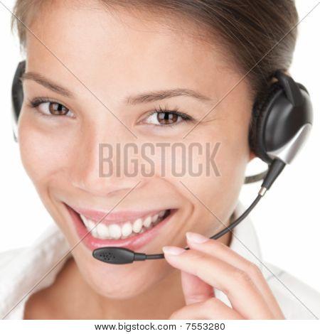 Telemarketing Woman