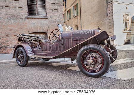 Fiat 501 Used In The Movie 1900 By Bernardo Bertolucci