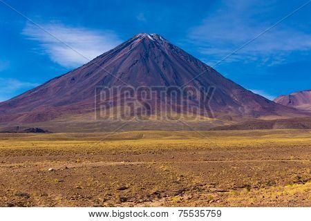 Vulcano in Andes, Licancabur