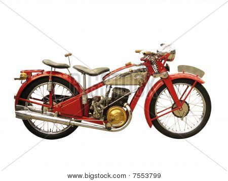 Ancient Motorcycle