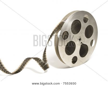 Big 16 Mm Monochrome Film Reel