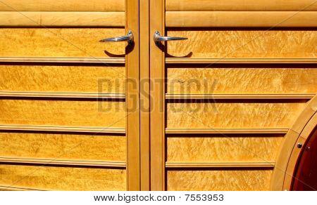 Wooden Car Door
