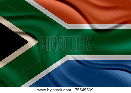 Amazing Flag of South Africa