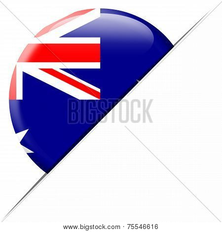 Australia pocket flag