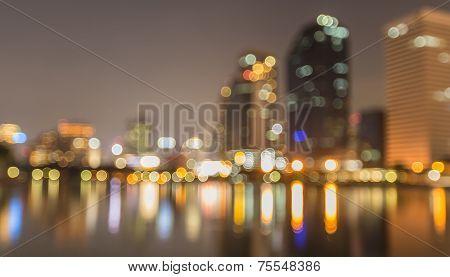 Cityscape bokeh
