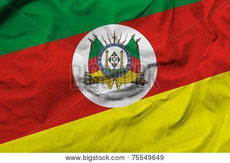 Flag of Rio Grande do Sul, Brazil