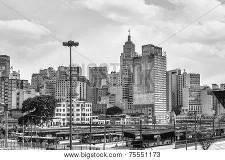 Sao Paulo landscape with the Banespa Building - Latin America