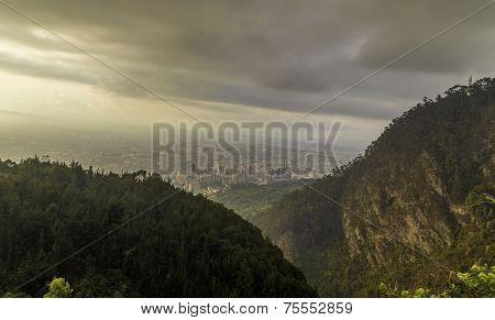 Amazing view of Bogota, Colombia - Latin America