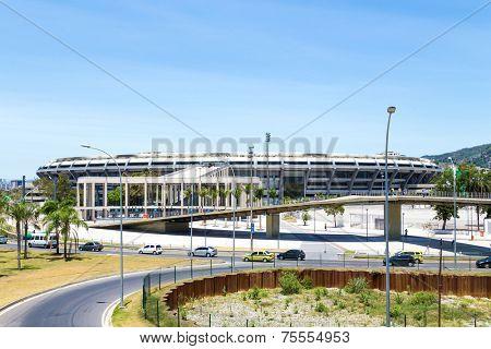 Maracana Stadium in Rio de Janeiro, Brazil