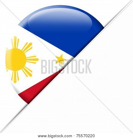Philippines pocket flag