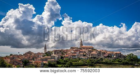 The Hill Town Of Buje, Croatia