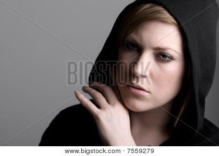 20S Female Looking Anxious