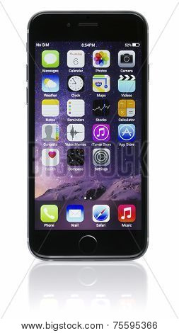 Apple Space Gray Iphone 6